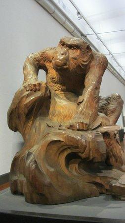 Nationalmuseum Tokyo: monkey