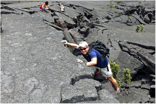 Kilauea Iki Trail: Take pictures along the way...be creative!