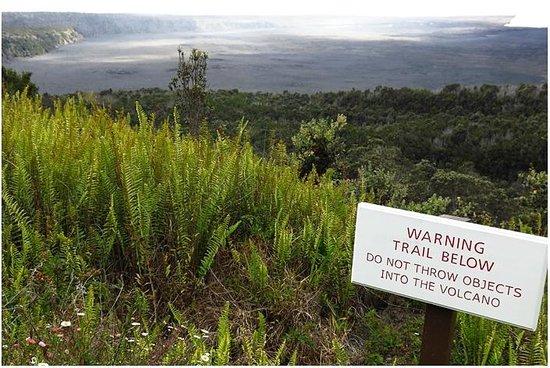Kilauea Iki Trail: From the Volcano House