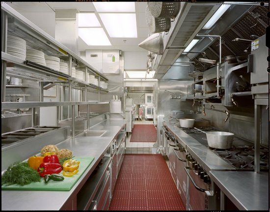 1789 Restaurant : The Kitchen
