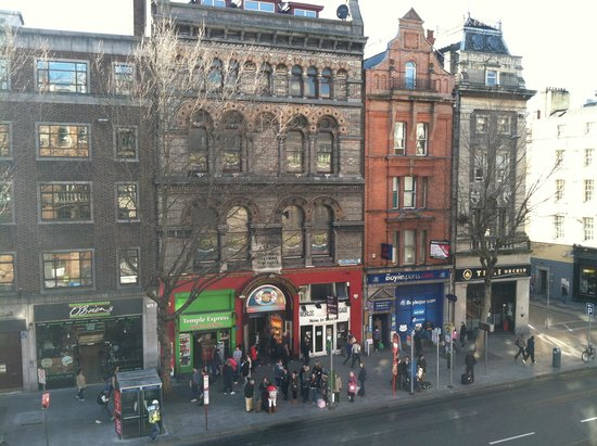 The Westin Dublin : View across street