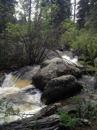 Sundance Trail Guest & Dude Ranch : the falls
