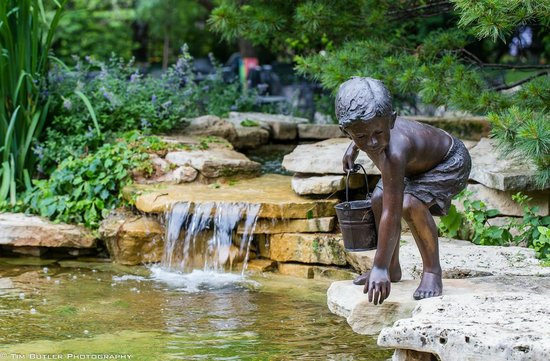 Botanica: The Wichita Gardens: Boys and Water, is there anything more natural?