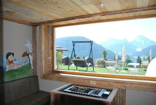 Hotel Alpen Tesitin: Sauna per bambini