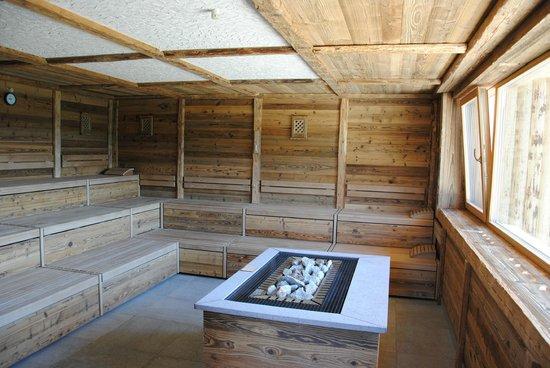 Hotel Alpen Tesitin: sauna baita