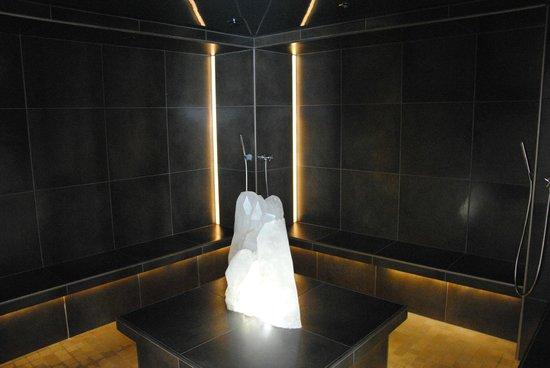 Hotel Alpen Tesitin: Sauna al quarzo