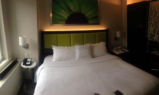 SpringHill Suites New York Midtown Manhattan/Fifth Avenue: Den sköna sängen