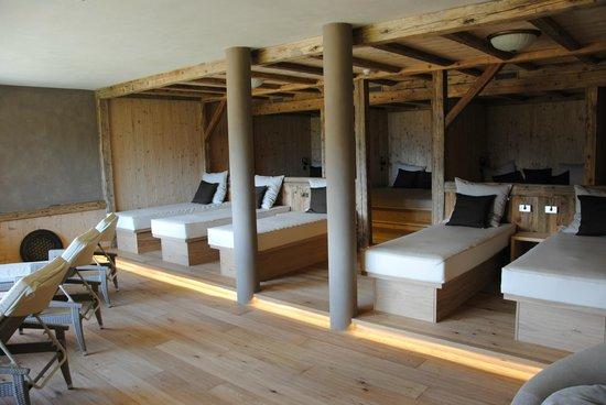 Hotel Alpen Tesitin: sala relax