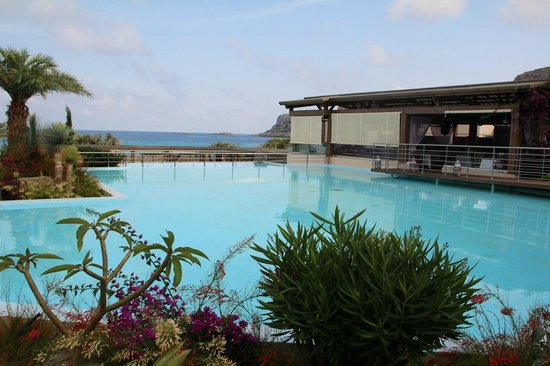 AquaGrand Exclusive Deluxe Resort: View of the terrace