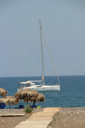 AquaGrand Exclusive Deluxe Resort: Yacht sailing