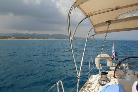AquaGrand Exclusive Deluxe Resort: Yacht sailing