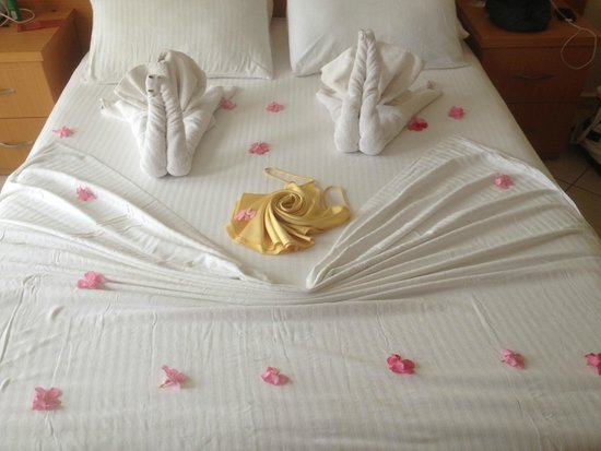 Celay Hotel: Cleaned bedding daily