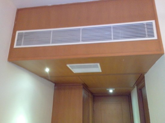 BKR Grand Hotel : Centralized AC in Rooms...