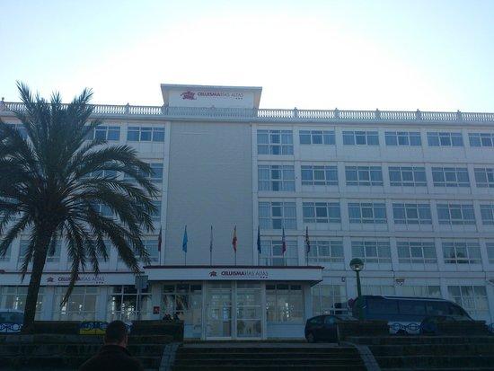 Hotel City House Rias Altas: Entrada hotel