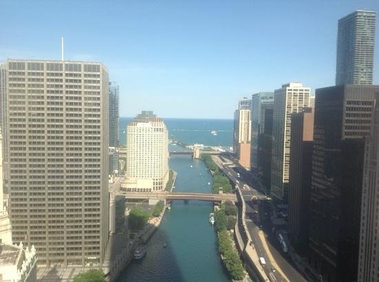 Trump International Hotel & Tower Chicago: The view from room 2704.