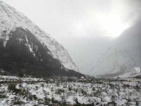 Snowy Milford Sound