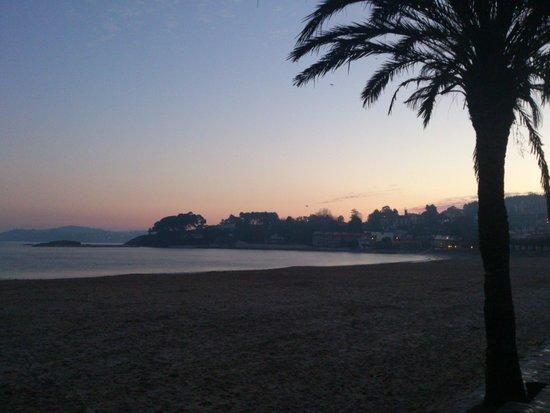 Hotel City House Rias Altas: Amanhecer