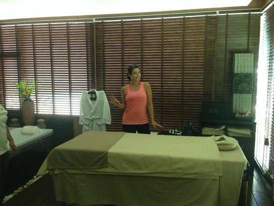 Tara Angkor Hotel: In the spa