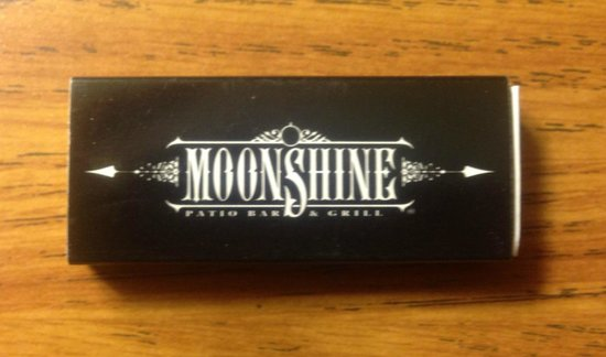 Moonshine Patio Bar & Grill: Free matches