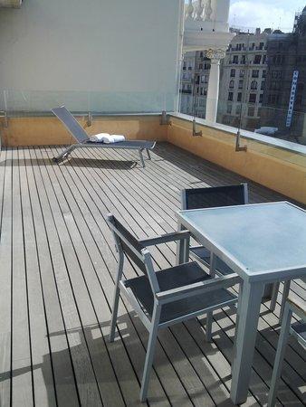 Hotel Zenit Valencia: terace deck junior suite
