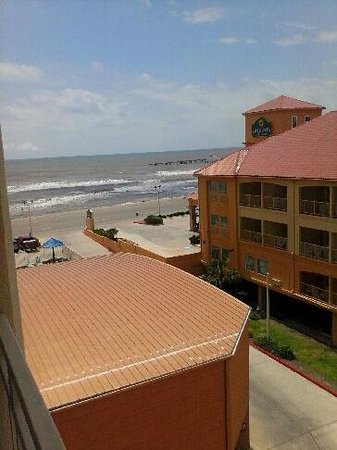 Holiday Inn Express Hotel & Suites Galveston West - Seawall: Balcony 4th Floor