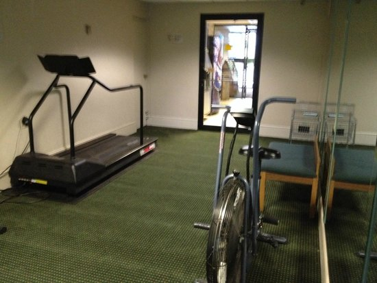 Best Western Gateway Adirondack Inn : not much of an exercise room