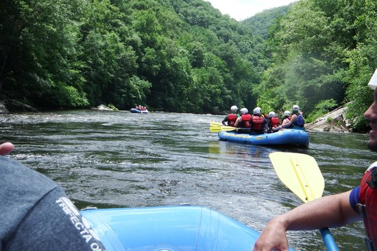 Raft Outdoor Adventures: Going down the river