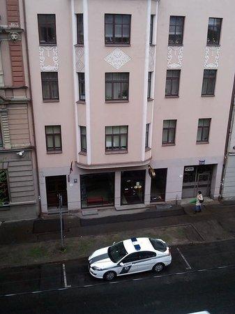 A1 Hotel : Вид из номера прямо