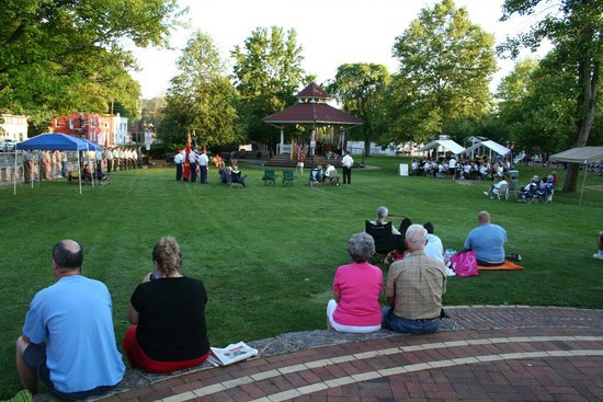 Talleyrand Park: Flag Day in Bellefonte