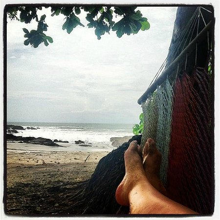 Ylang Ylang Beach Resort: view from hammock