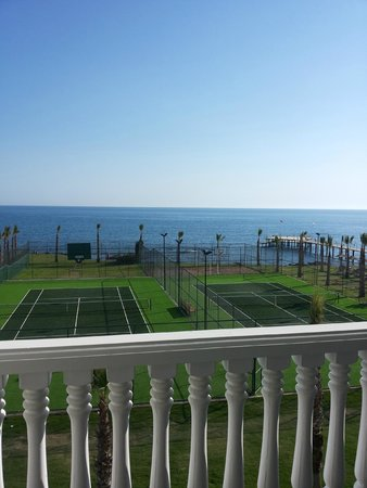 Rubi Platinum Spa Resort & Suites: view from our room