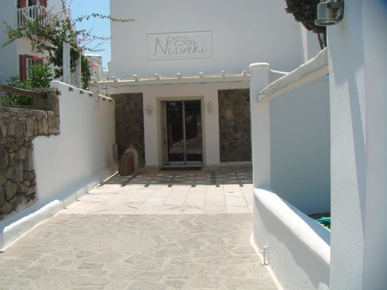 Nissaki Boutique Hotel : Reception entrance