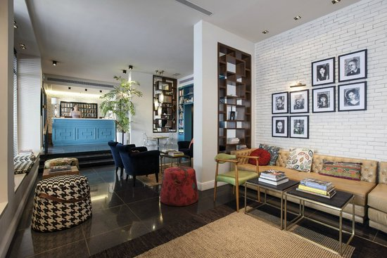 Center Chic Hotel Tel Aviv - an Atlas Boutique Hotel: Hotel Lobby
