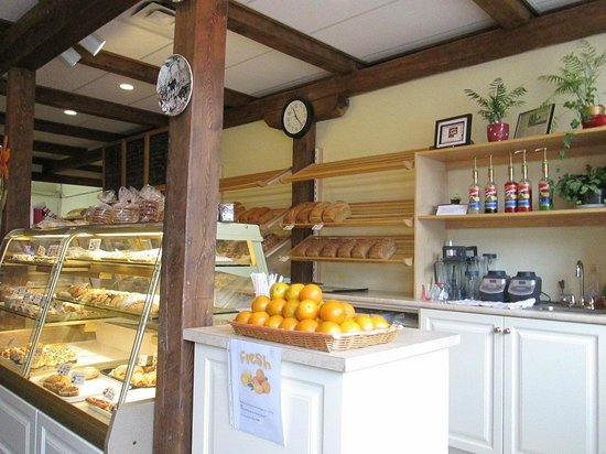 Schat bakery & Cafe: Counter