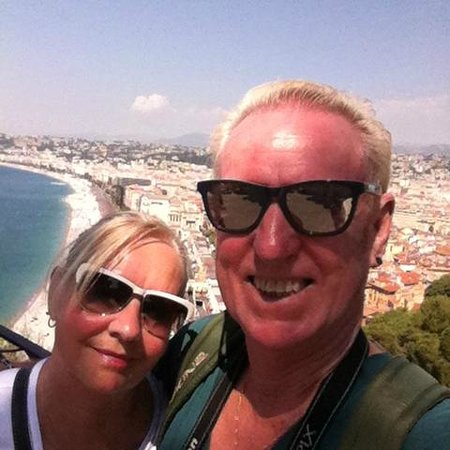 Star Hotel: Selfie - hubby and me