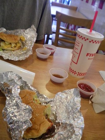 Five Guys: Simple decor for a great place!