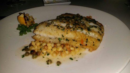 Filini : Atlantic Cod cooked perfectly.