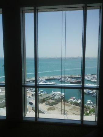 Hilton Doha: room with a view