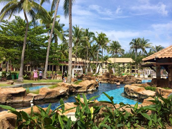 Nirwana Gardens - Nirwana Resort Hotel : Pool view