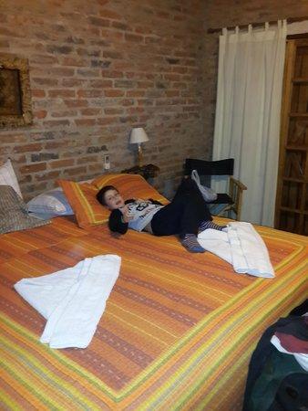 Jasy Hotel : cama muy comoda
