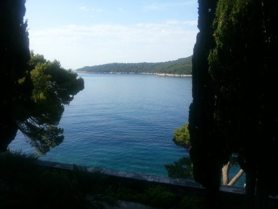 Grand Villa Argentina: View From Our Room To Lokrum