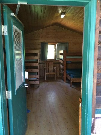 Sylvan Lake State Park Campground: Open floor plan