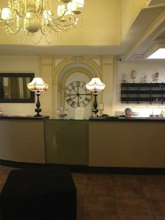 Hotel Adriano : The lobby