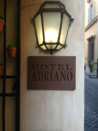 Hotel Adriano : Outside
