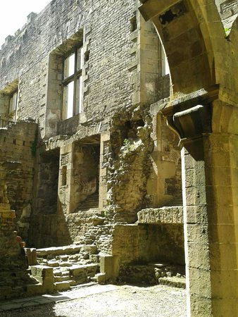 Bolsover Castle: The kitchens