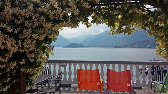 Hotel Metropole Bellagio: Rooftop garden