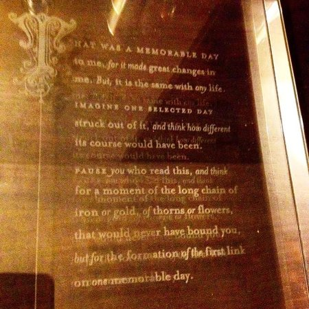 Rosewood London : Great Expectations etched in your dresser