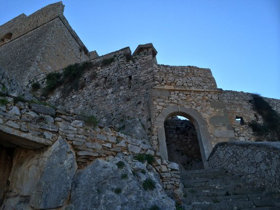 Fortress of Palamidi - Picture of Palamidi Castle, Nafplio ...