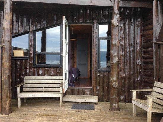 Brekkestranda Fjord Hotel: my back porch