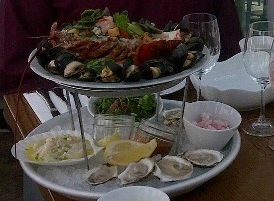 Brasserie T! : Captain platter